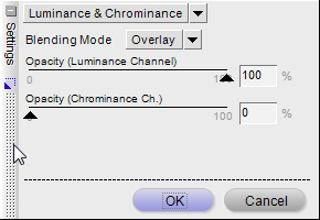 High Pass Opacity Settings