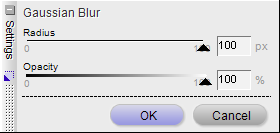 Gaussian Blur Options