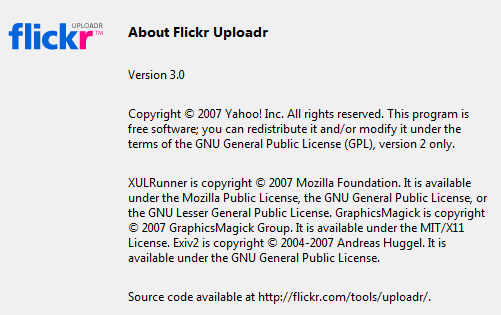 Flickr Uploader 3.0