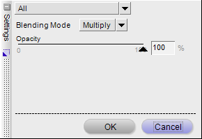 Gaussian Blur opacity settings