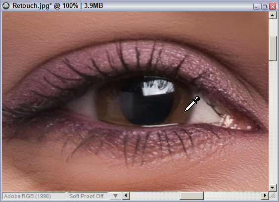 Sample eye color