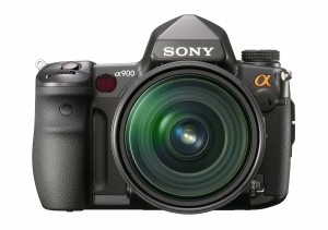 Sony A900 full frame DSLR