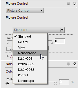 Capture NX2: Picture Control