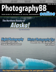 The cover of PhotographyBB issue 10